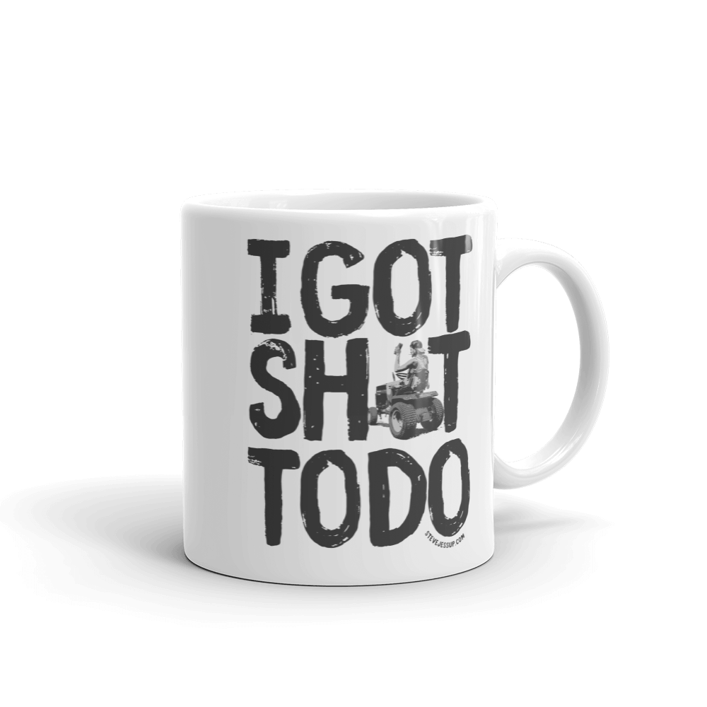 Coffee Mugs - Take Steve everywhere you go with these cool Coffee Mugs. Click here to see all of the Steve Jessup Coffee Mugs.