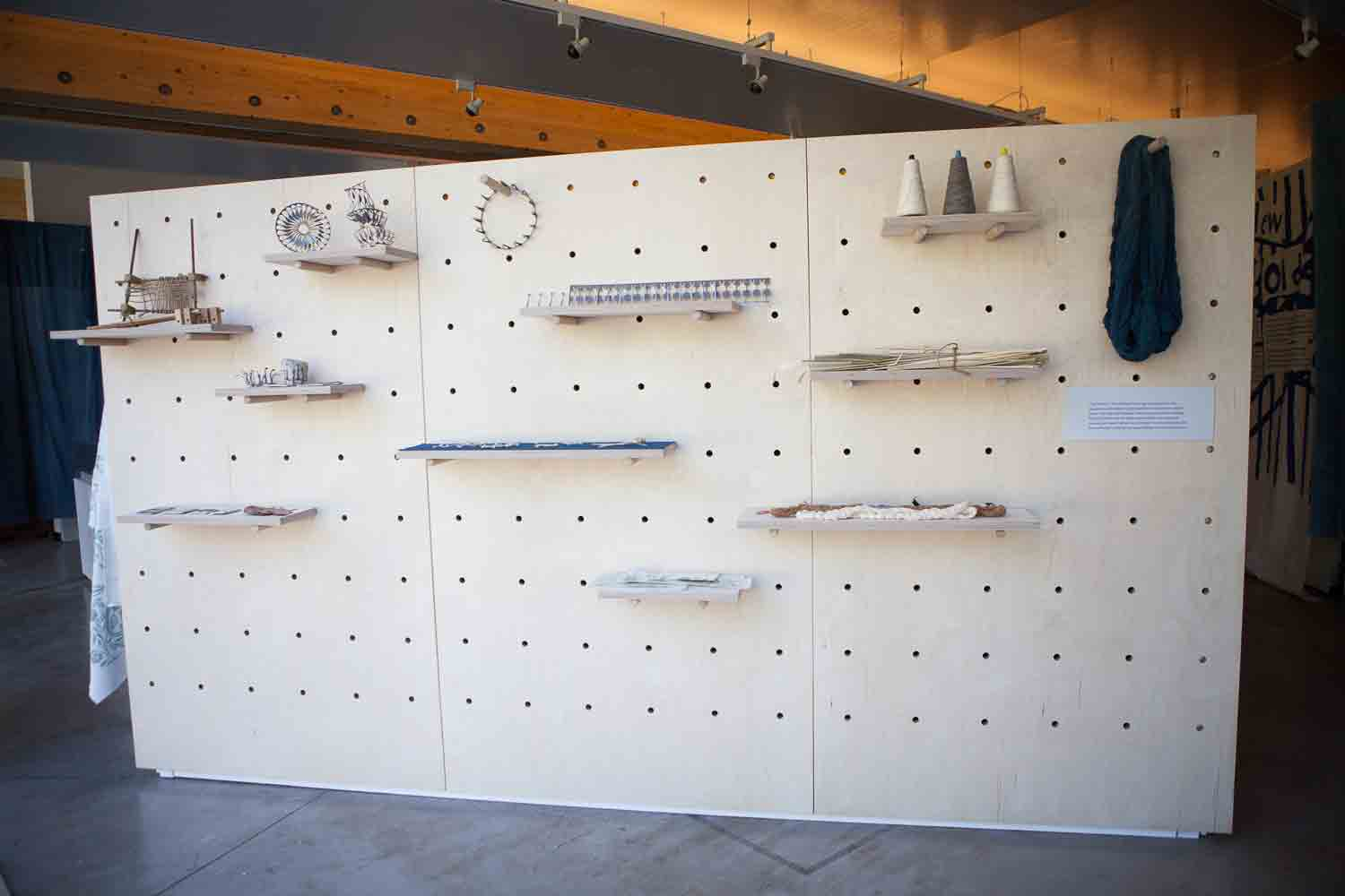 Exhibition fabrication for the British Council
