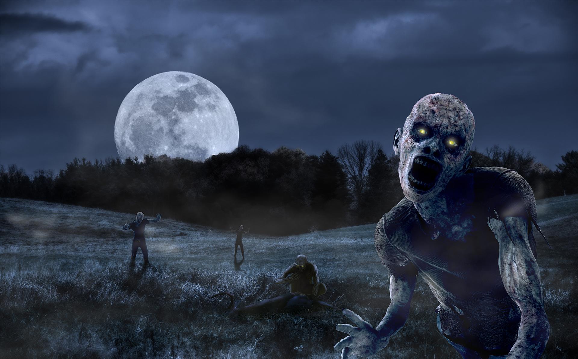 zombies - 2014Photoshop CC
