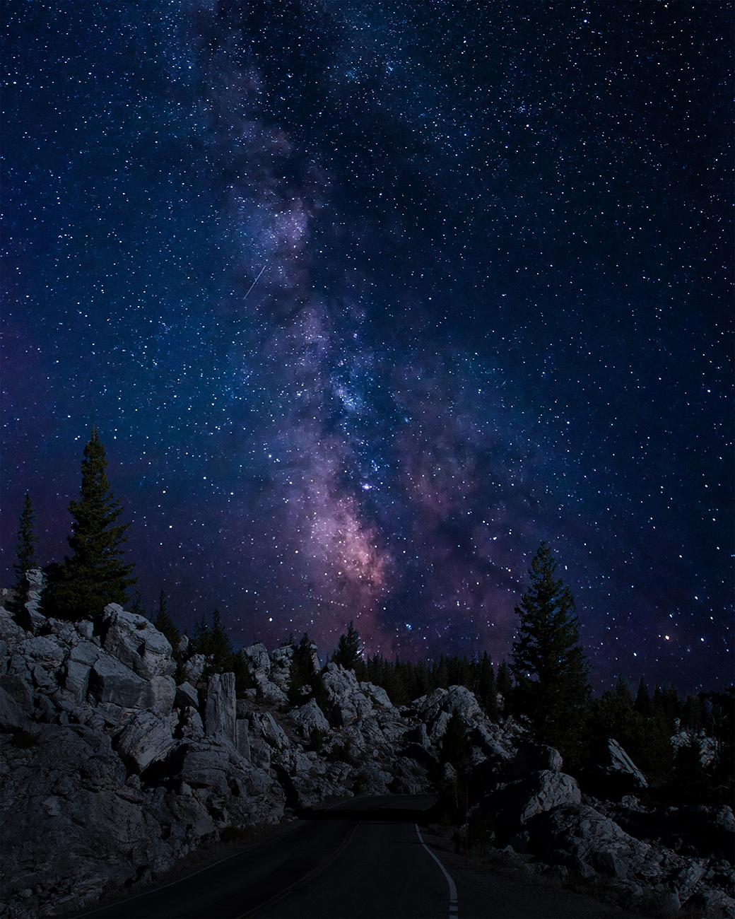 Milky way over montana - 2014Photoshop CC