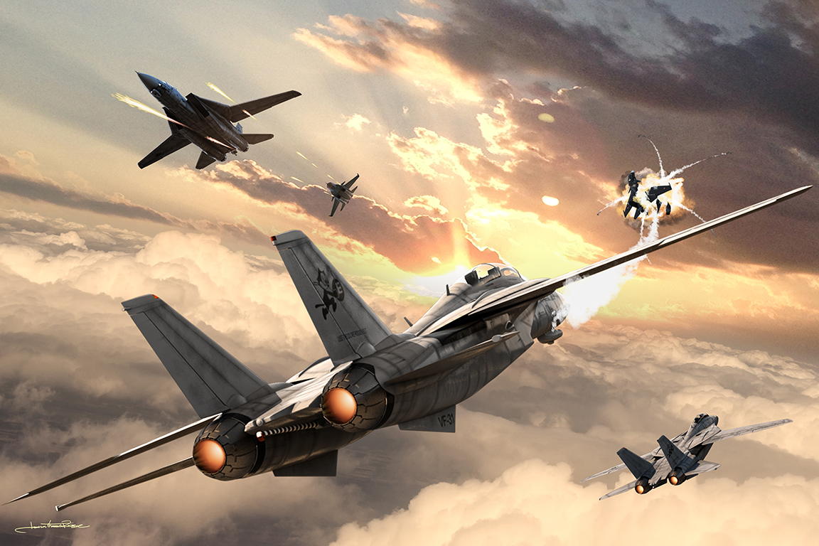F14 Dogfight - 2018Photoshop CCPIxelsquid Elements