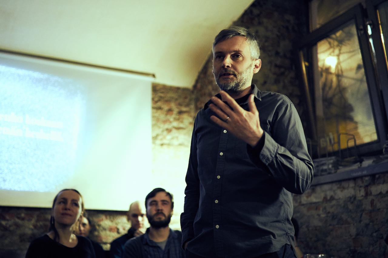 Petr Borkovec, café Fra