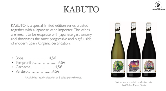 Example page from our personalised wine selection, you can expect 3-6 pages like this