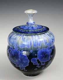keiths gloss lidded jar blue.jpg