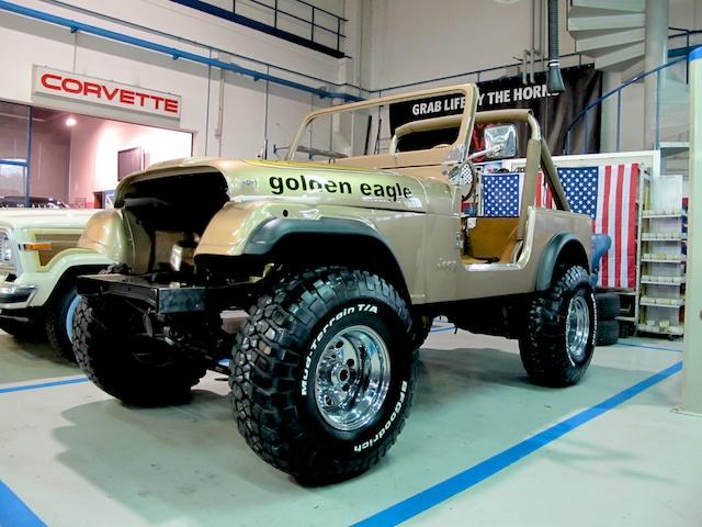 1979 Jeep CJ Golden Eagle Restauro e ricostruzione totale