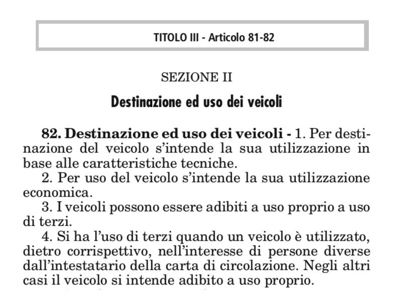 Art.82 del CDS