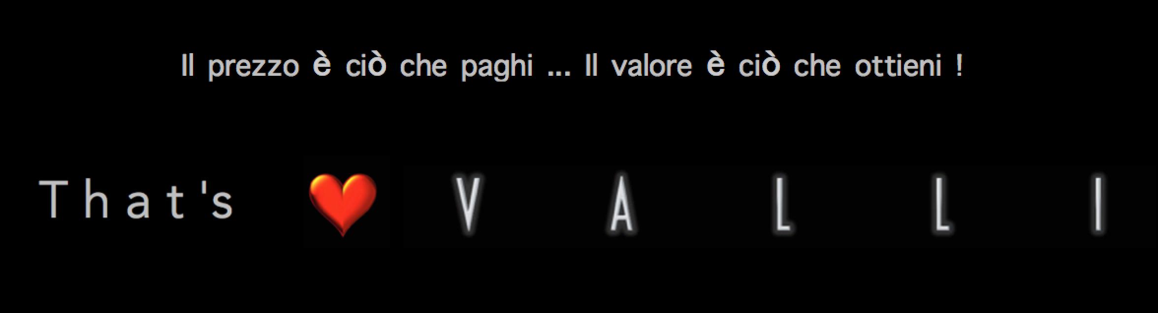 #vallistore #maurovalli