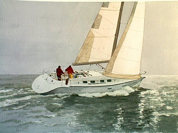 1,300.00   15.5 x 21.5 Original Watercolor