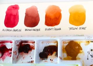 Watercolor Palette Layout 4