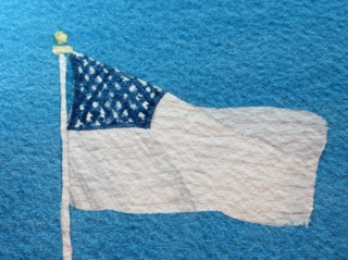 American Flag Blue