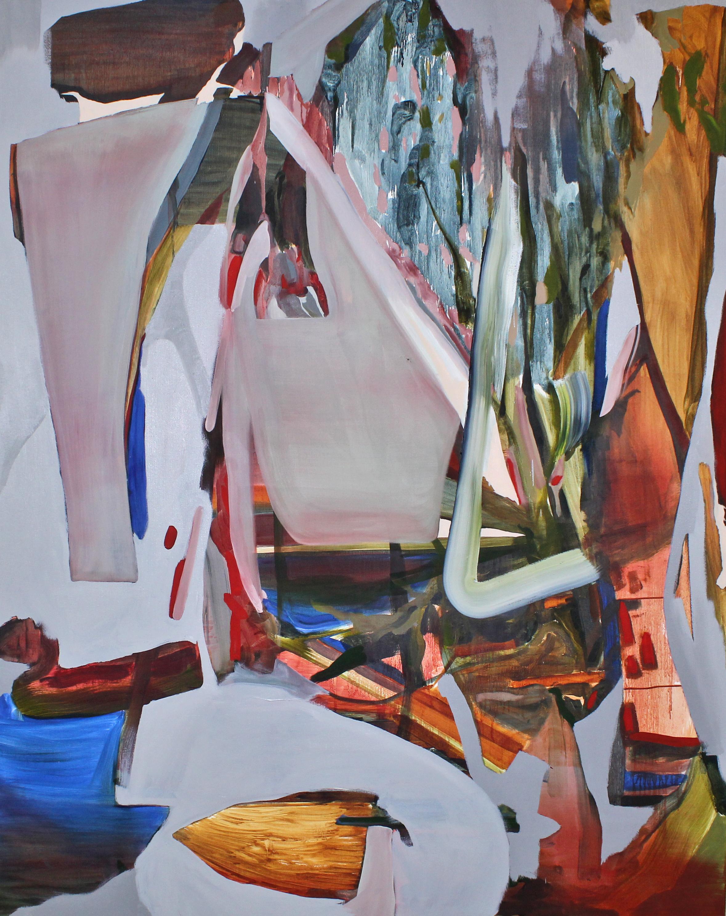 Lemongrass. 48 x 56 in. oil on canvas. 2019.