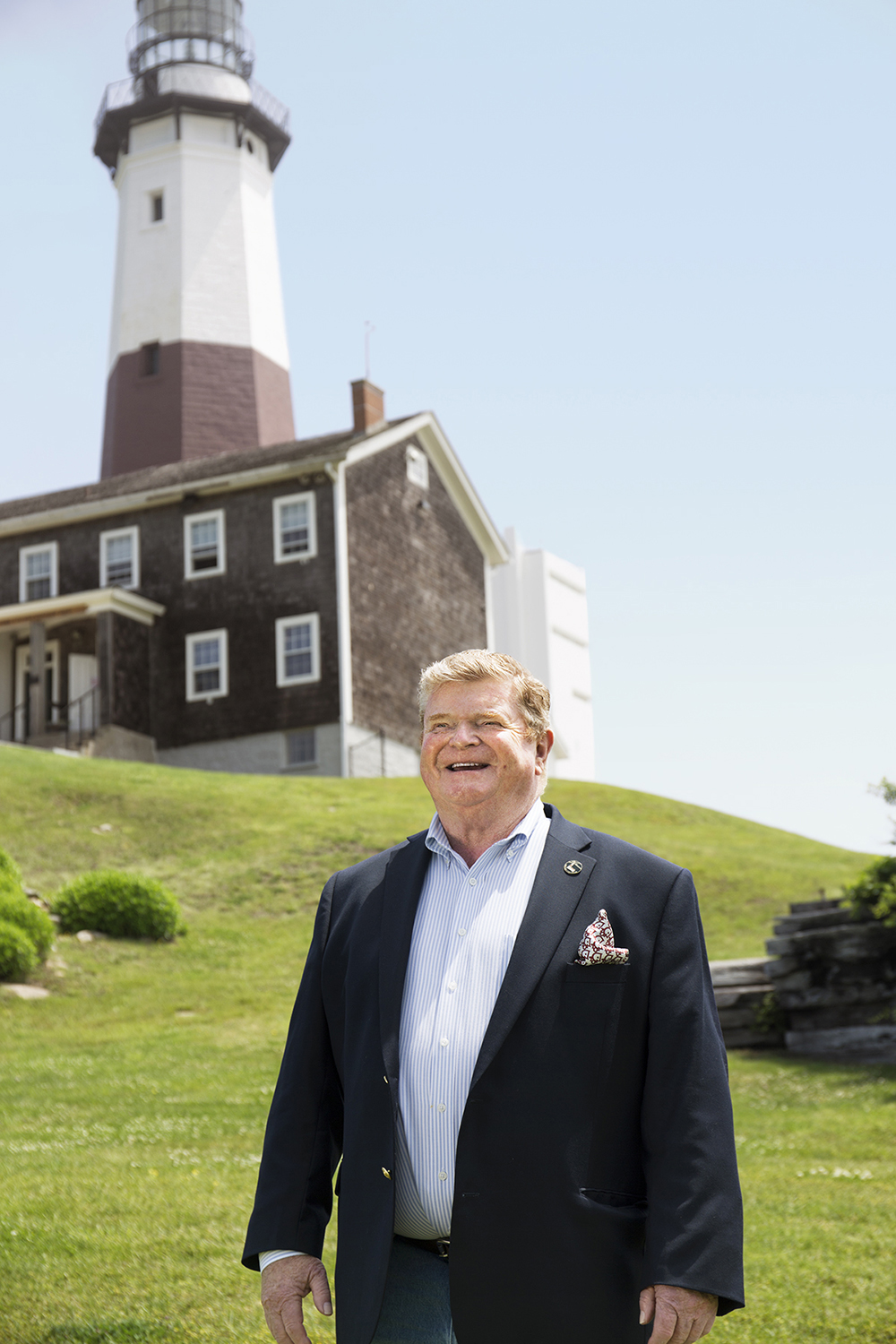 Richard Fox White, Jr. Chairperson Lighthouse Committee, Montauk Point Lighthouse