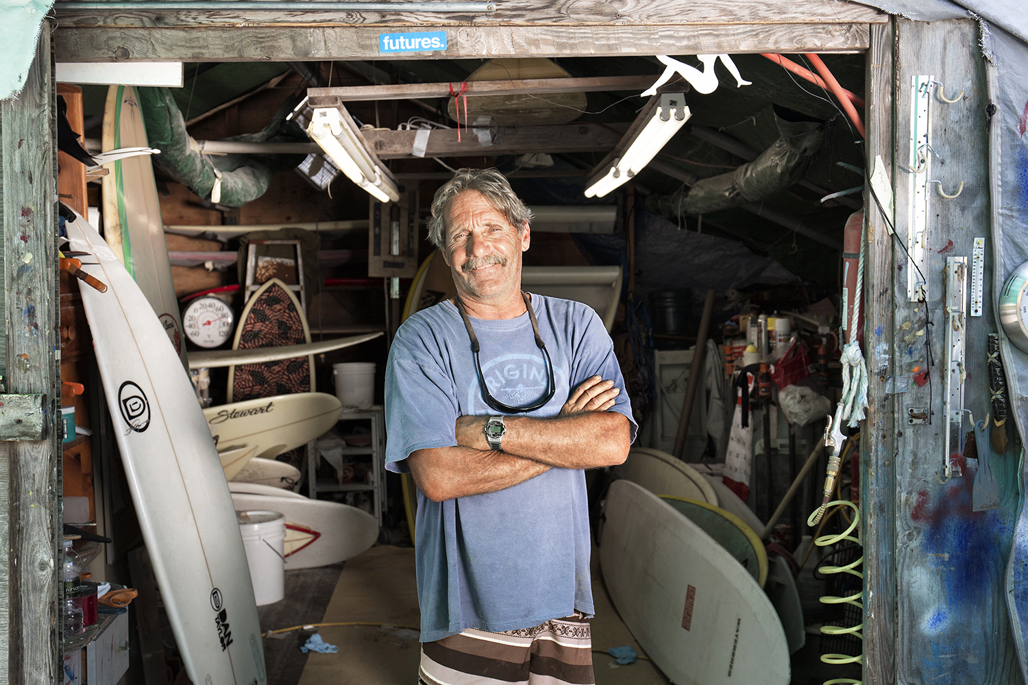 Jim Goldberg, Surf Board Maker, Commercial Fisherman, Hook Surf Boards, Fort Pond
