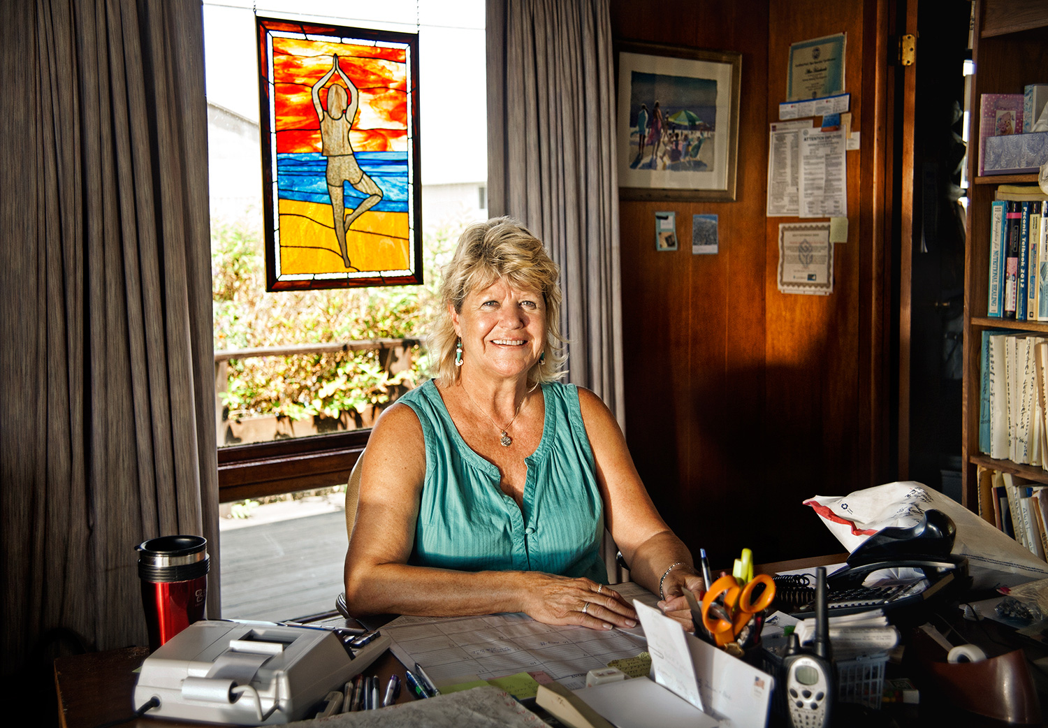 Connie Keller, Manger of East Deck, 1992-2013, Ditch Plains Beach
