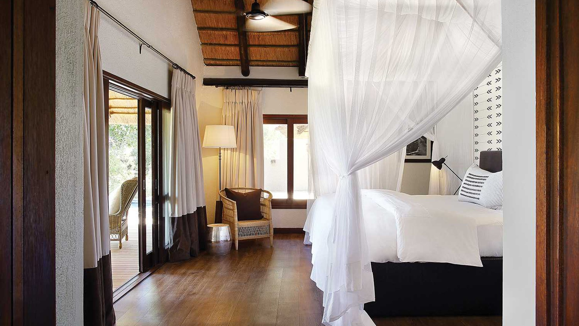 Accommodations - Thirteen nights of luxury in some of the best hotels in all of South Africa.