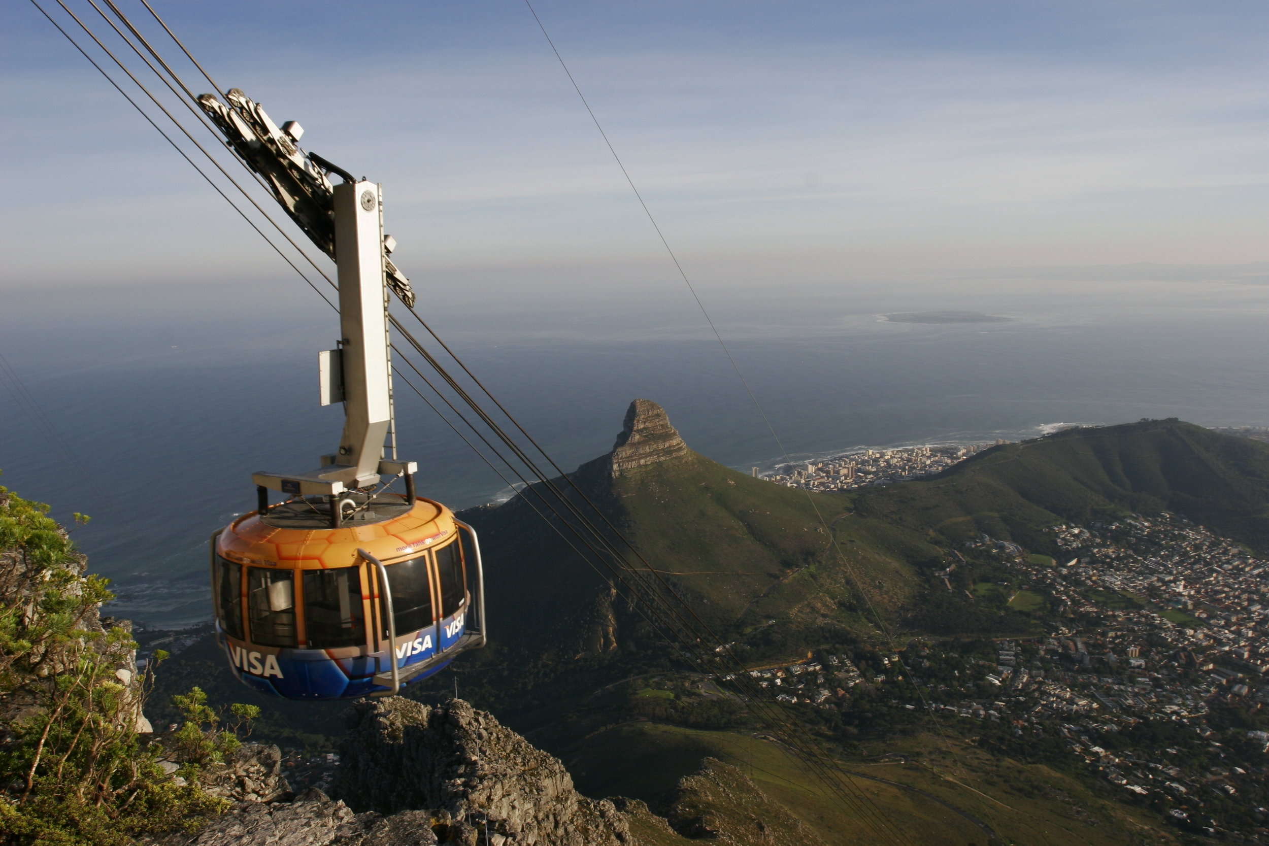 Cable Car and Lion's Head.JPG