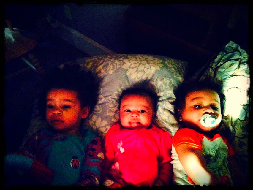 They wake through the night and are early risers. They are lucky they're so cute :-)