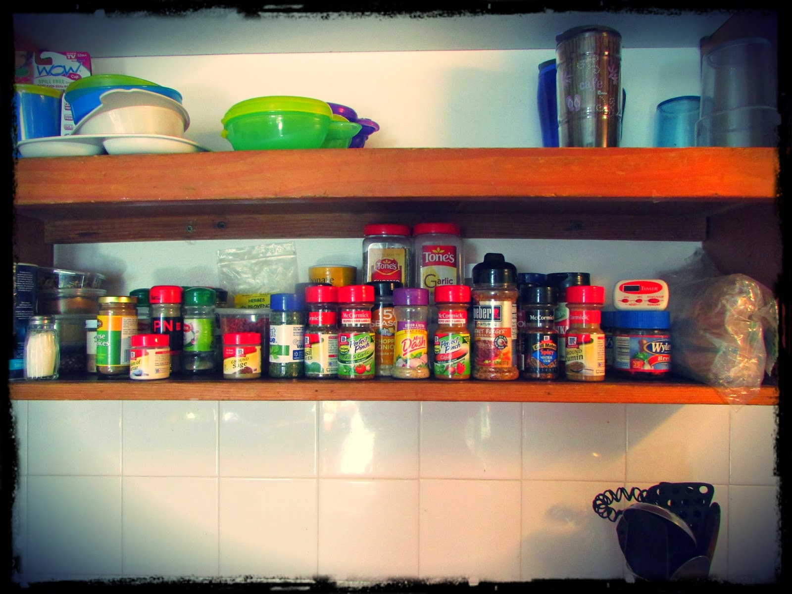 I'm sure we can get spices here, but I brought along my favorite ones just in case!