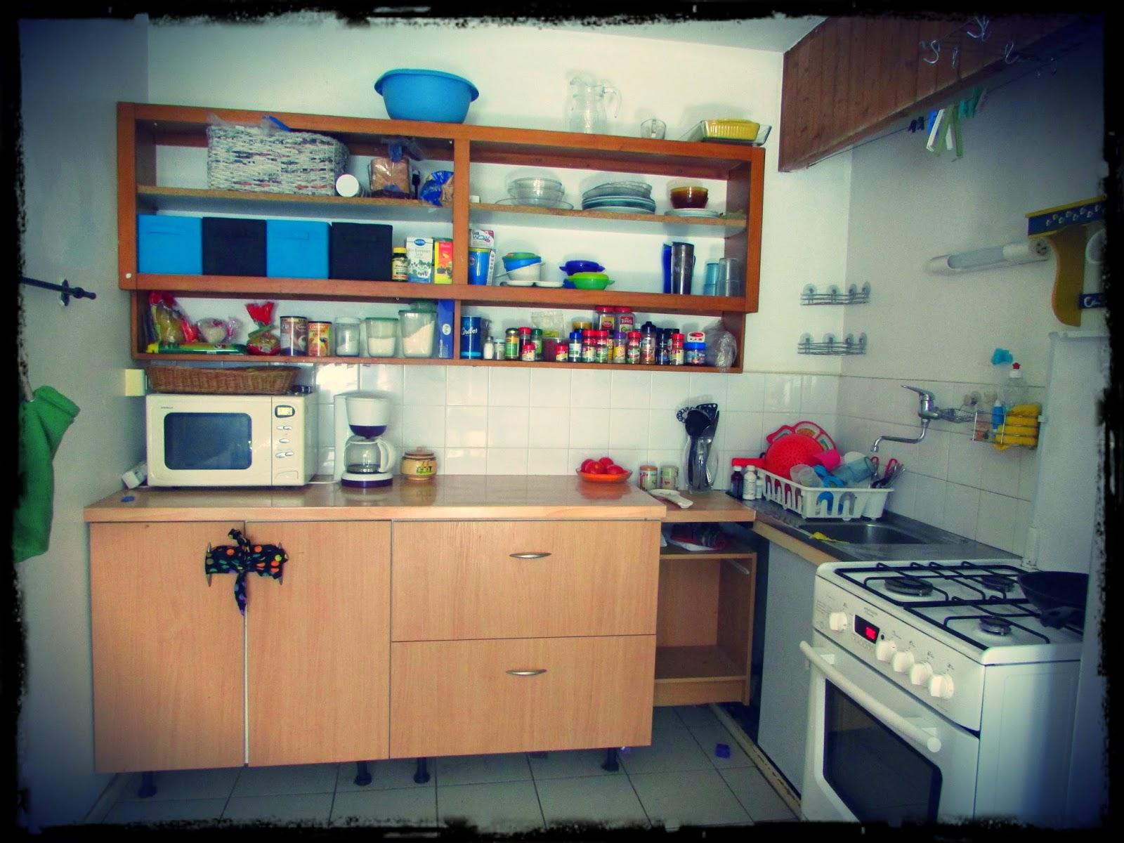 Our cozy kitchen