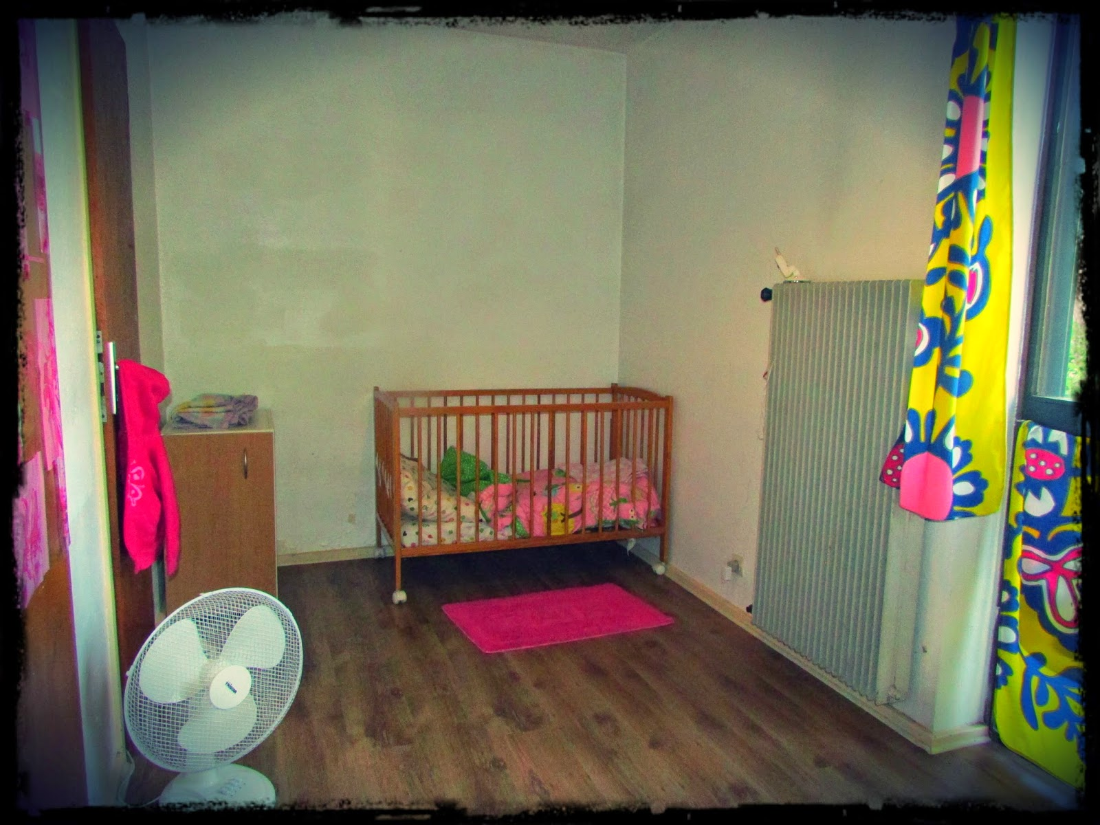 Jaelyn's room. Although, it's soon to be the new baby's room
