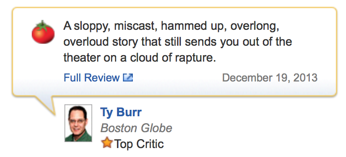 Review on American Hustle