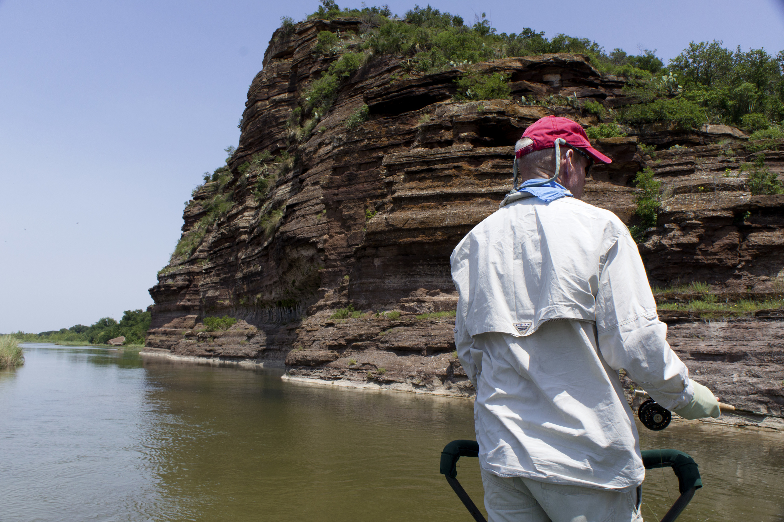 Ron Linehan HL Bluffs on the Llano River