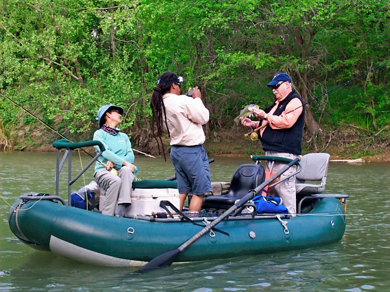 Fishing with Bob Clouser on the Colorado River