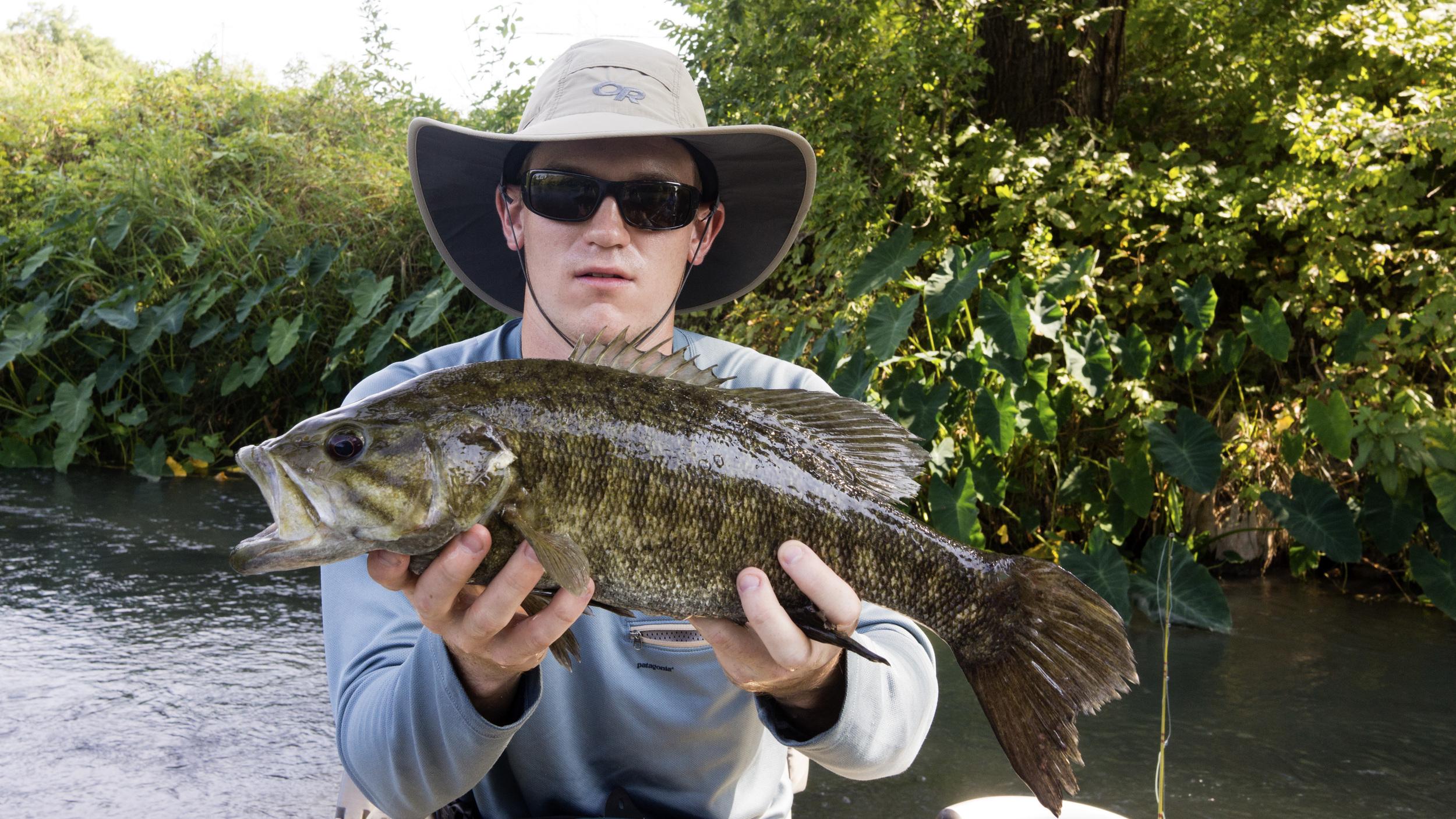 San Marcos River big bass