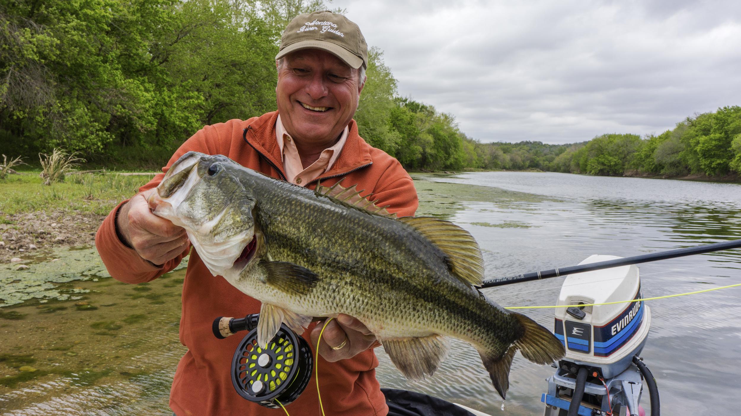 A Huge River Bass