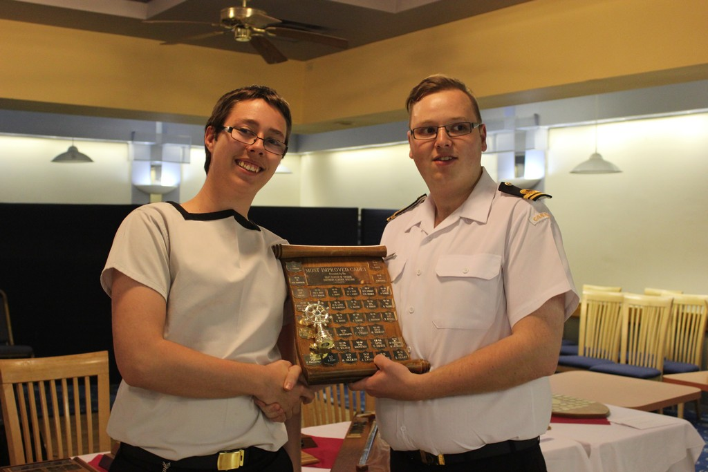 Most improved cadet - PO1 Neary