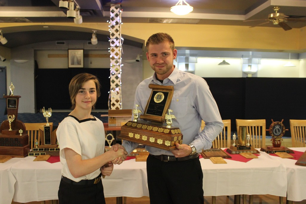 Most improved bandsman - MS Lynen E