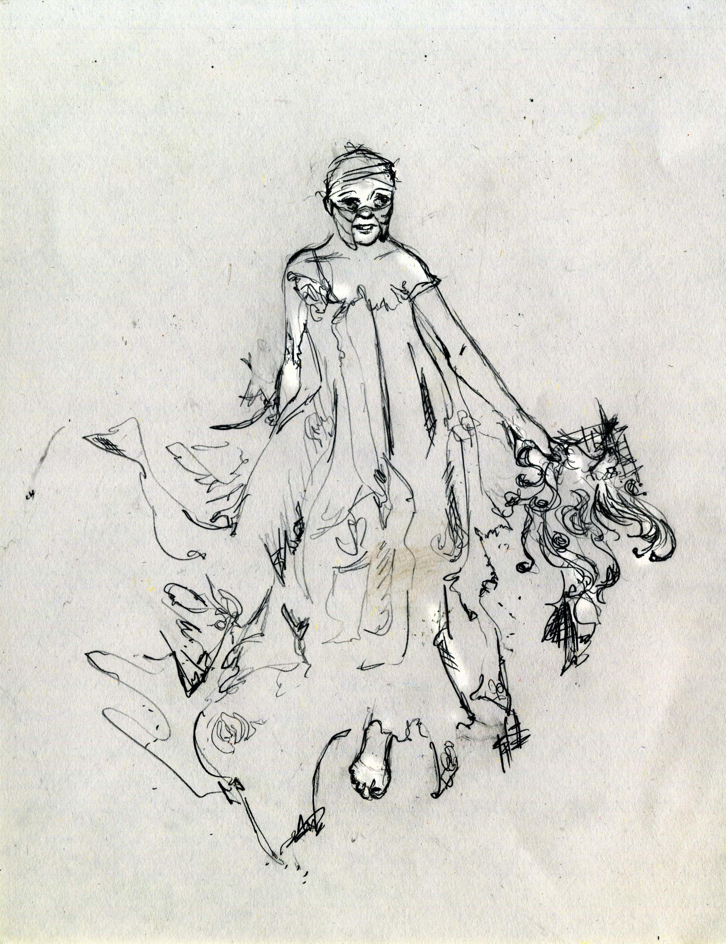Concept Sketch for The Tippler