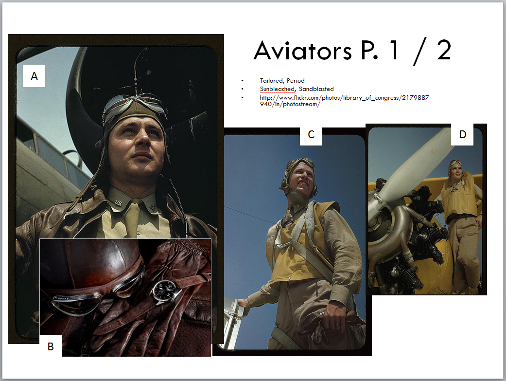 Research Collage: The Aviator