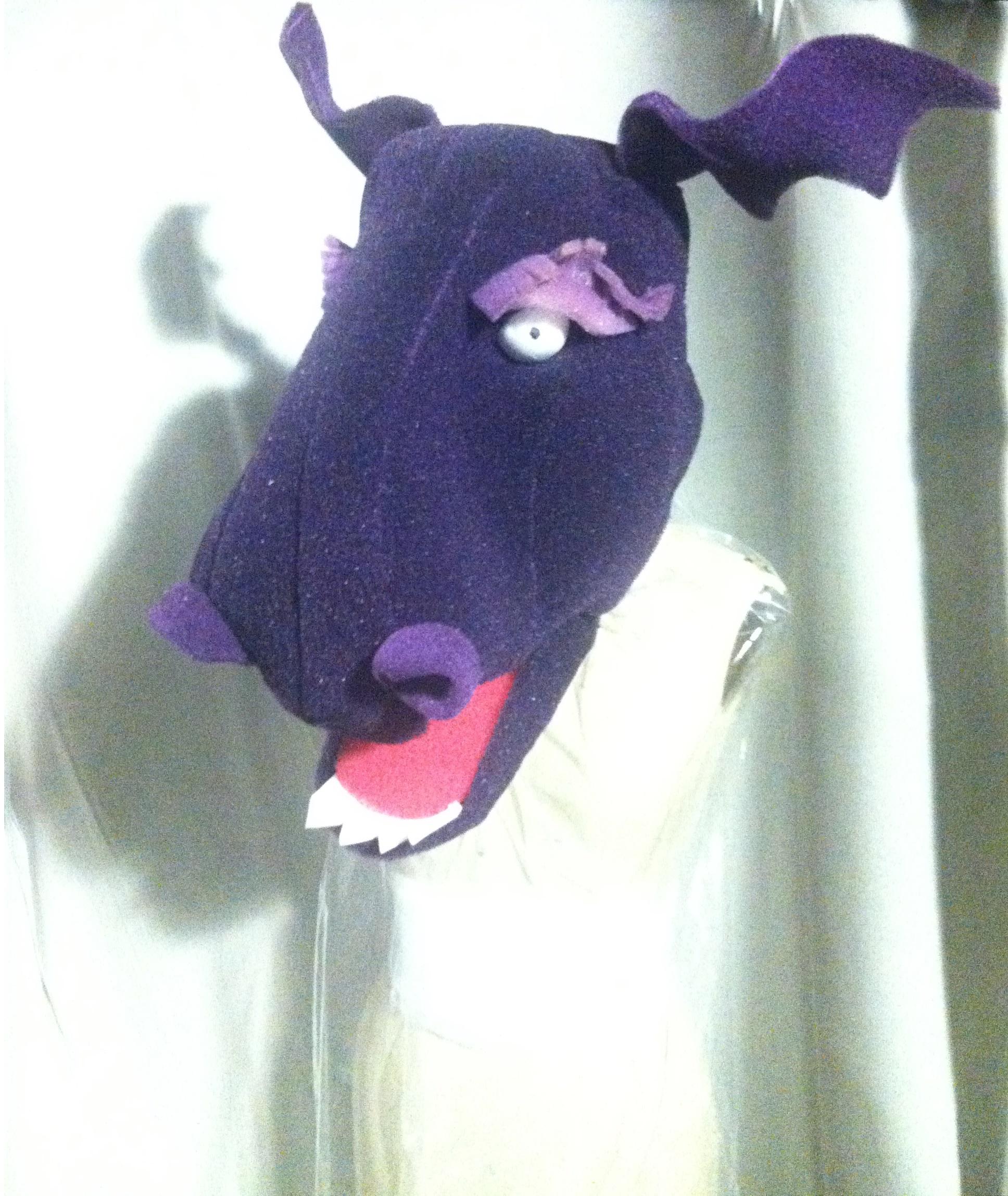 Foam Puppet Head: Dino