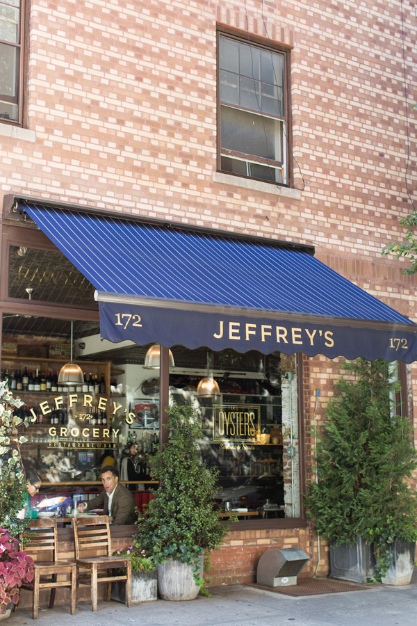 First up is Jeffrey's Grocery , a popular neighborhood restaurant and a great place to go for oysters. Their full menu includes favorites such as their po' boy sandwich and fried chicken plate, so GOOD.