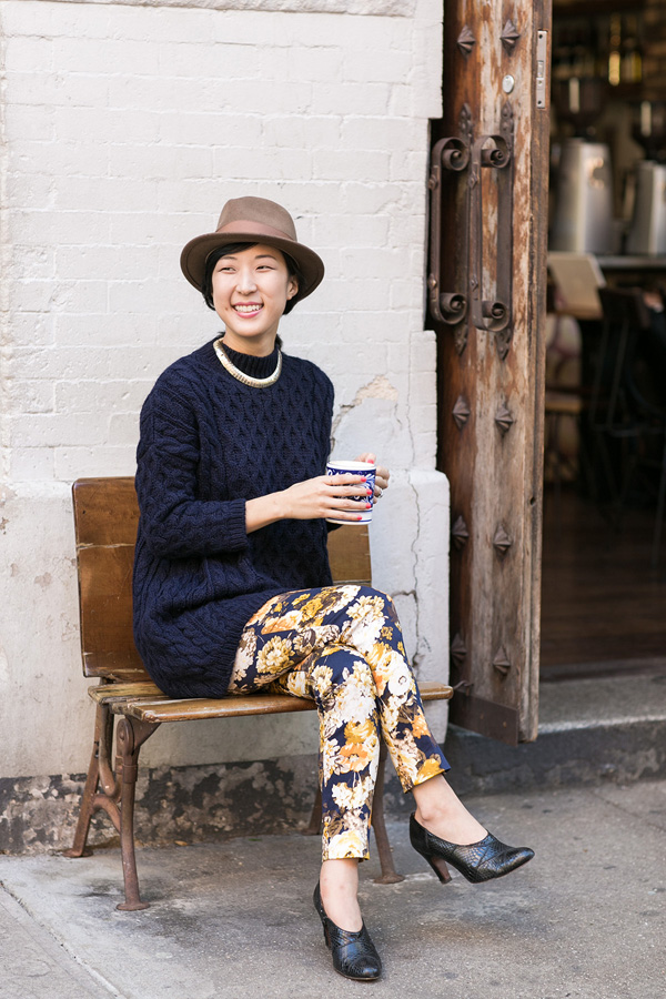 Patricia Kim at Whynot Coffee