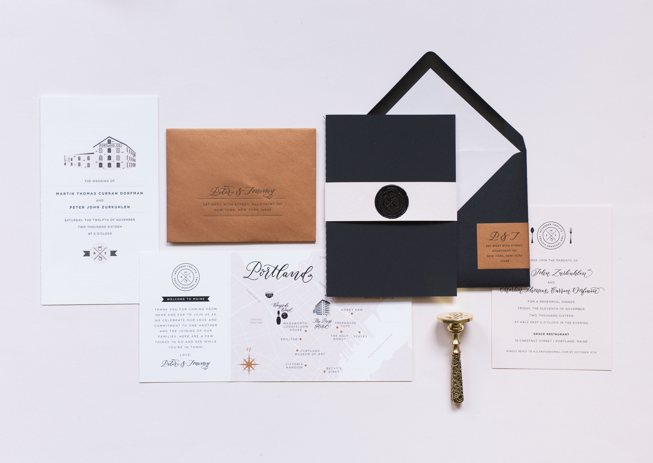 Invitation Photography by Fourteen-Forty.