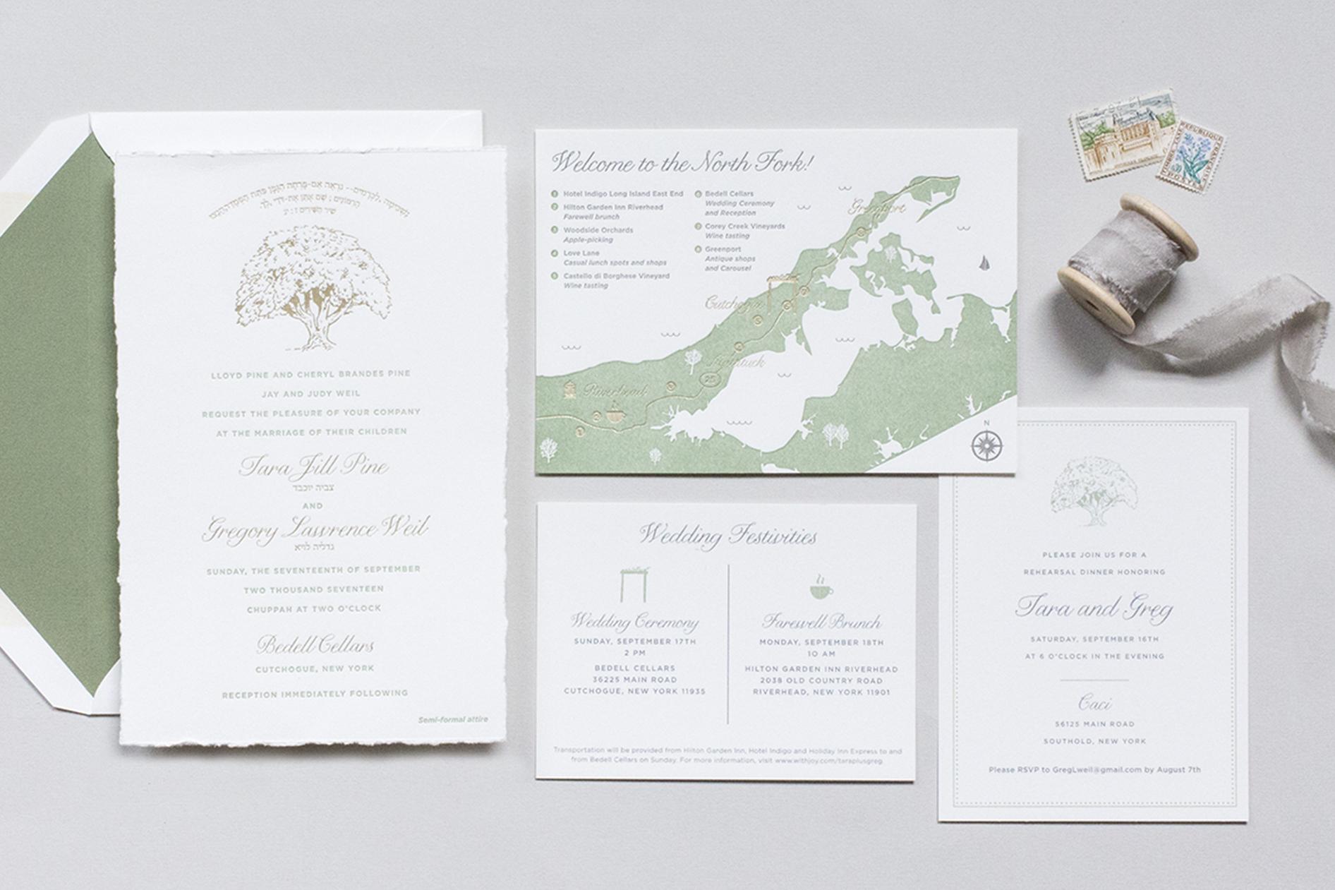 Invitations — Fourteen-Forty: Custom Wedding Invitations