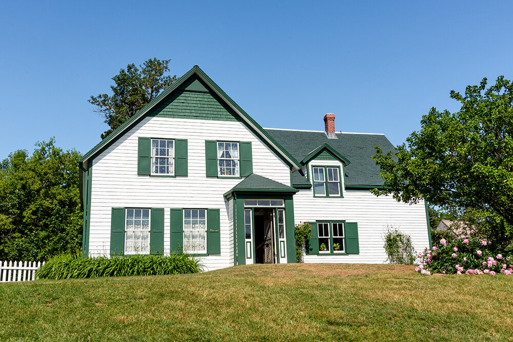 The Anne of Green Gables house.