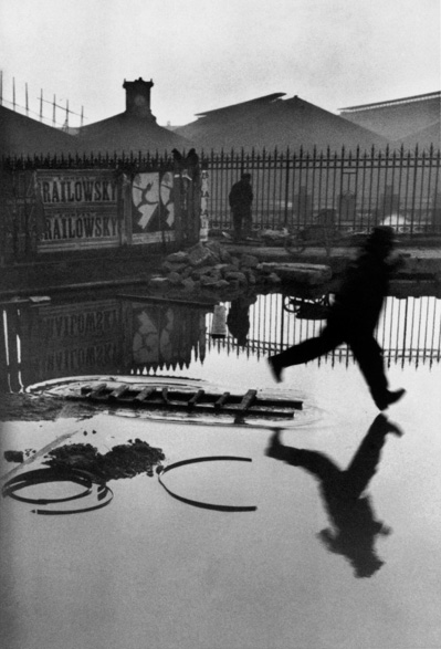 "Henri Cartier-Bresson, ""Behind the Gare Saint-Lazare, Paris"", 1932"