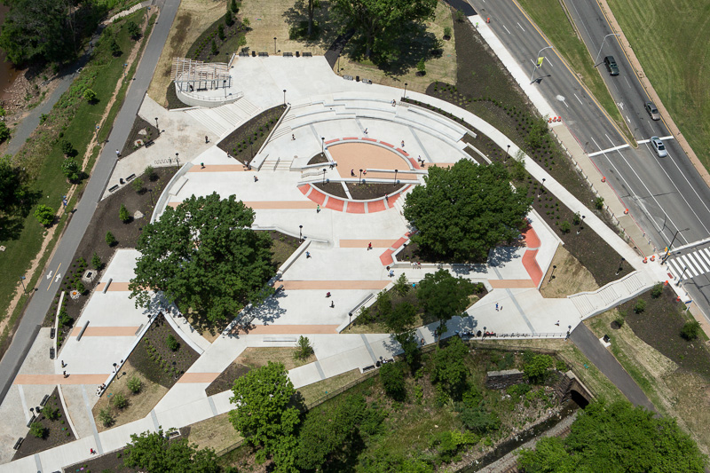 Paine Park, a skateboard park near the Philadelphia Museum of Art, opened May 2013.