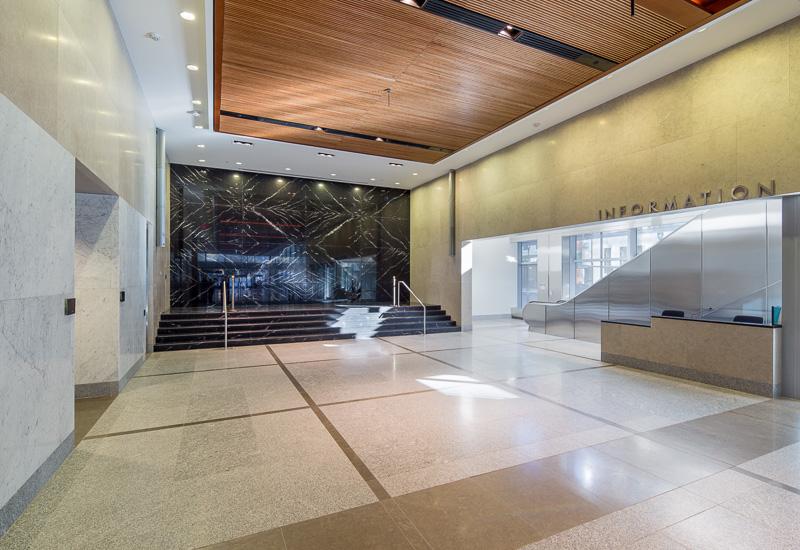 1st floor lobby.