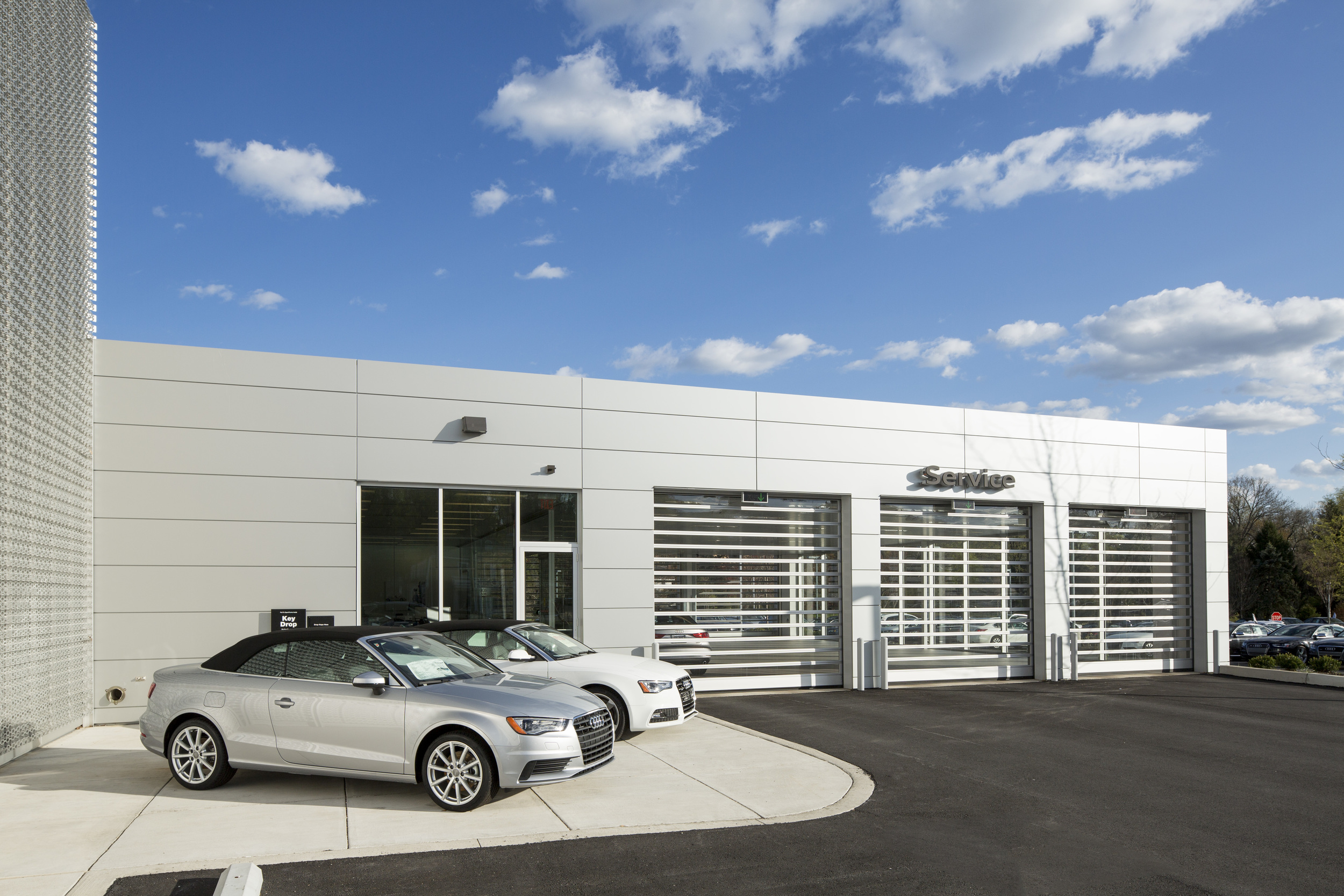 The Devon Audi dealership has a fleet of 55 loaner cars — one way they go the extra mile to keep their upscale customers happy.