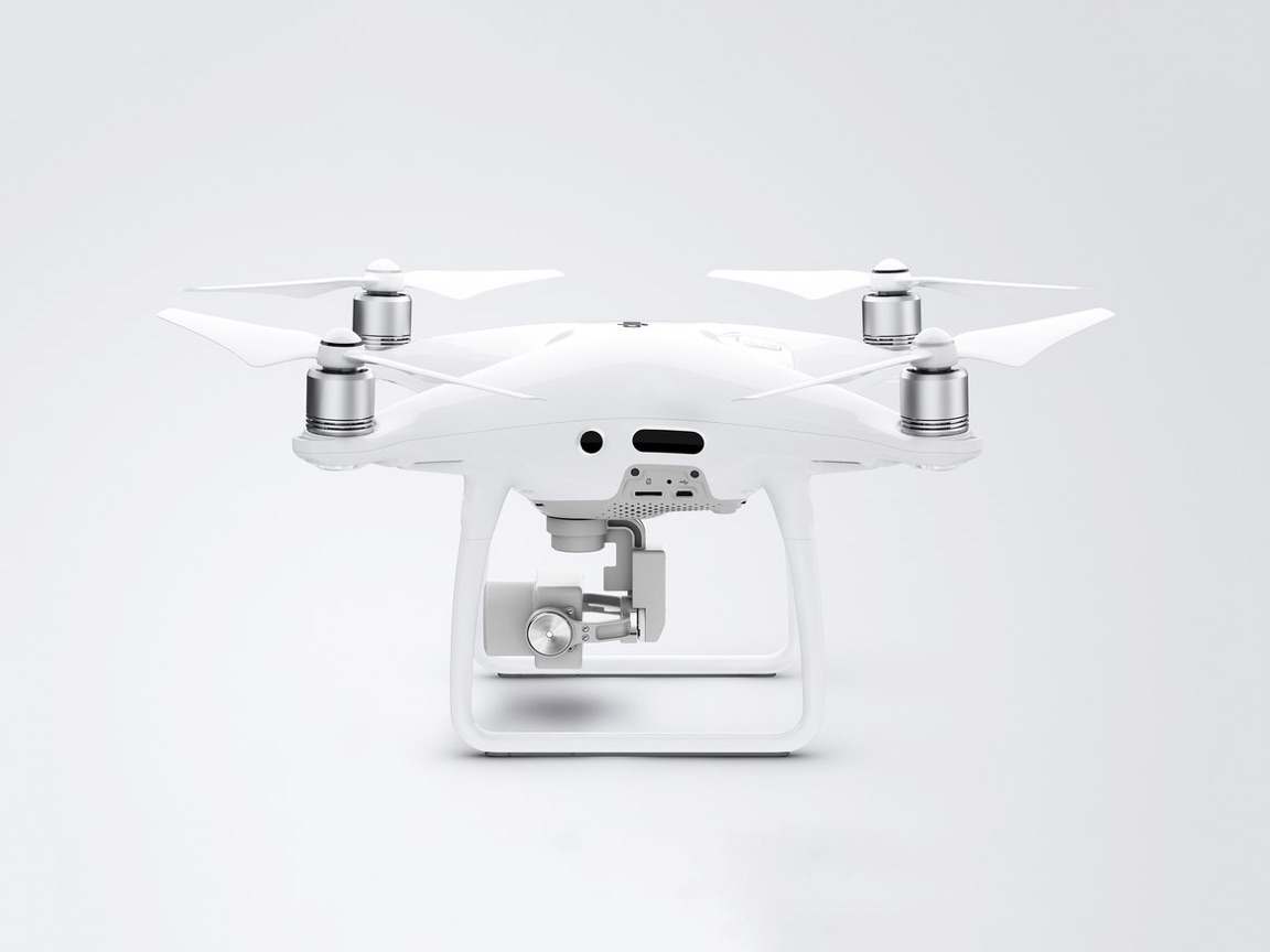 DJI Phantom 4 Pro with integral camera. (photo source: DJI)