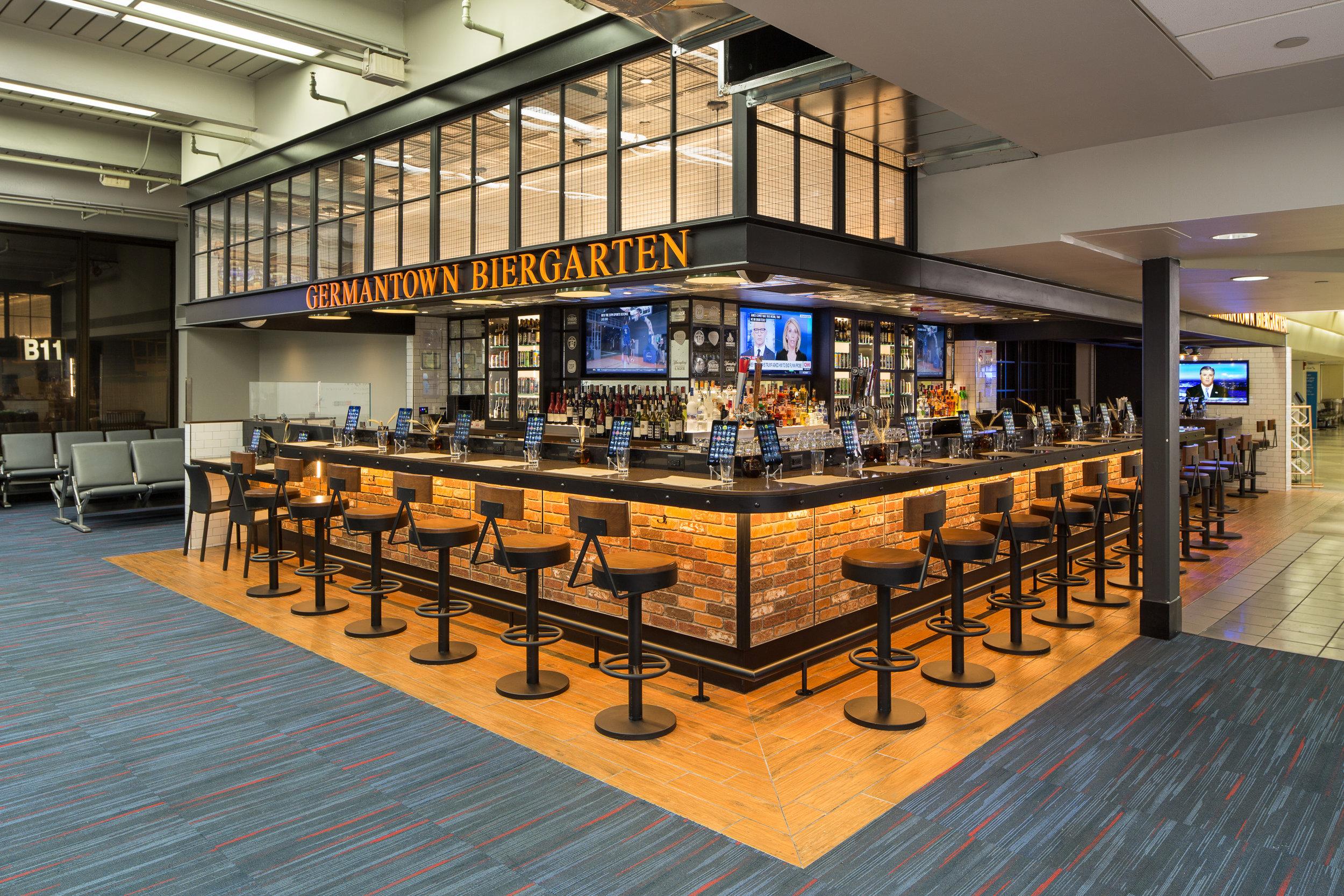 Germantown Biergarten, Terminal B, Philadelphia Airport