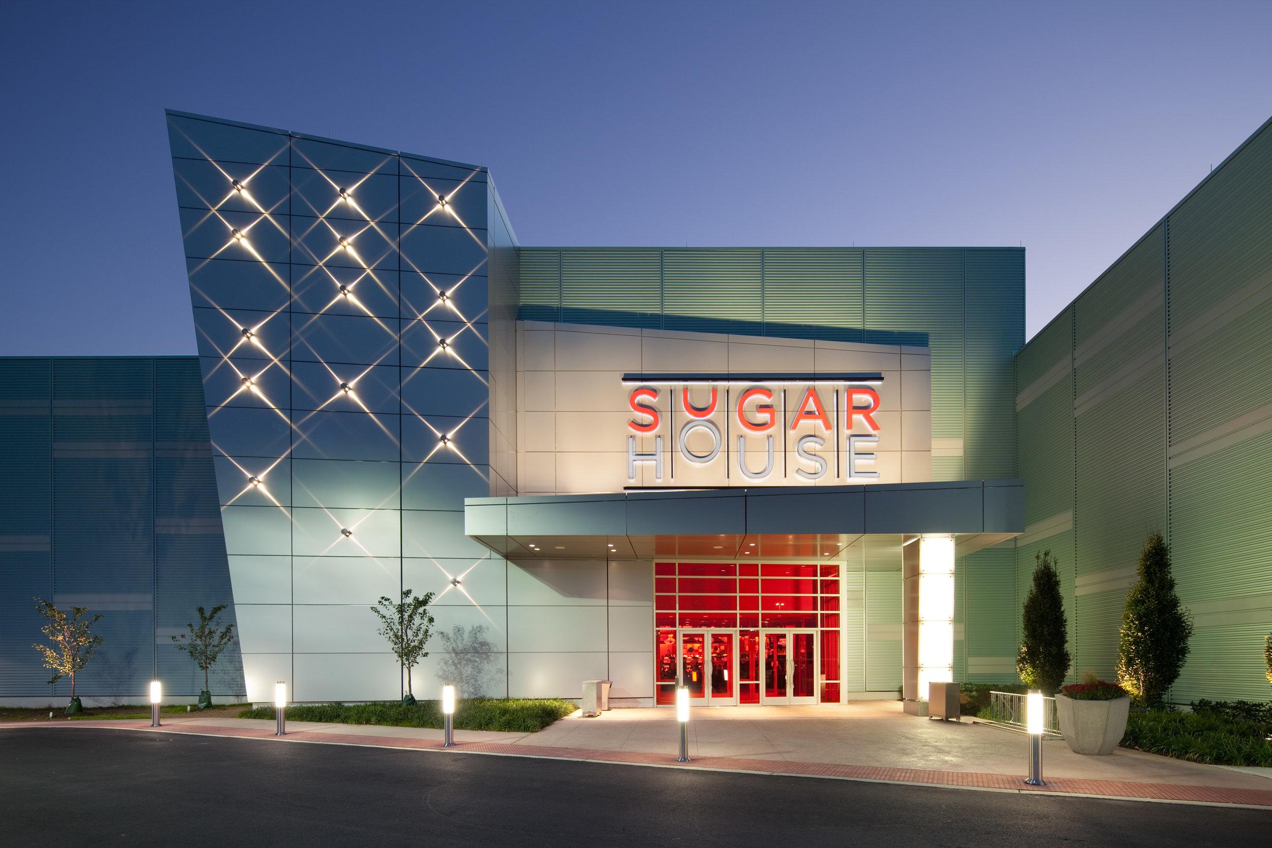 Portal to Sugar House Casino.