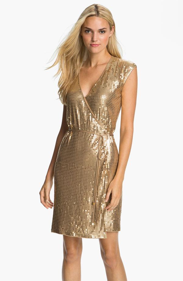 MICHAEL Michael Kors Sequin Wrap Dress - $150 at Nordstrom.jpg