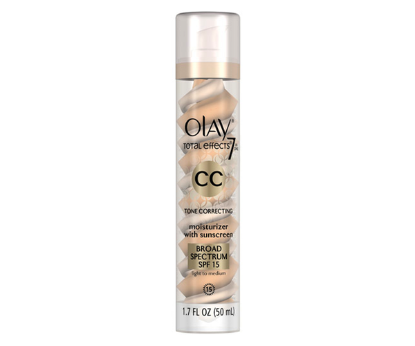 Olay Total Effects 7 in One CC Tone Correcting Moisturizer with Sunscreen  Photo:  www.allure.com