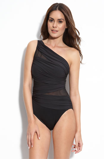 Photo:  www.nordstrom.com    Miraclesuit®' Jena' One Piece Swimsuit      $150