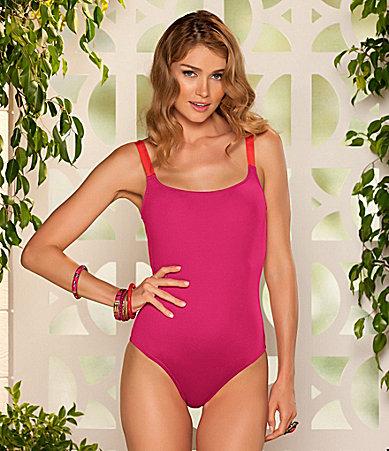 Photo:  www.dillards.com    Becca Daytona One-Piece Swimsuit      $78.00